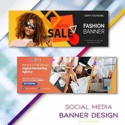 Basic Business Site Social Media Banner Designing Services