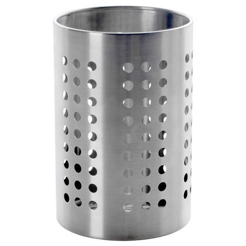 Dariya Silver Stainless Steel Kitchen Utensil Holder