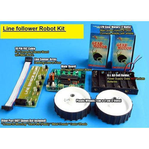 Line Follower Robot Kit