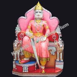 Marble Agrasen Statue