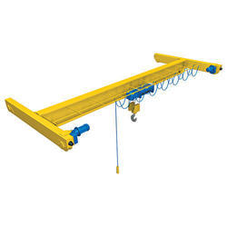 Mild Steel Single Girder Cranes