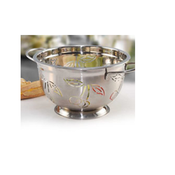 Silver Cherry Colander, For Home