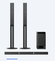 Stylish 5-1ch Tall Boy Home Theater System