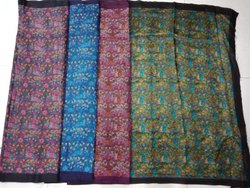 Fancy Ladies Tussar Silk Saree