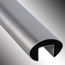 Stainless Steel Oval Single Slot Tubes