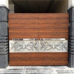 Modern Stainless Steel SS Fundermax Sheet Gate