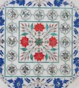Beautiful Marble Inlay Plate