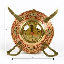 Rawsome shack Metal Dhaal Talwar Clock