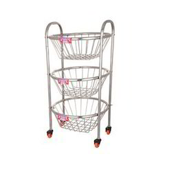 Fruit Round Trolley