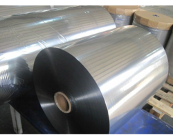 Metallized BOPP Silver Film, Packaging Type: Roll