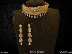 Chokor American Diamond Necklace Set