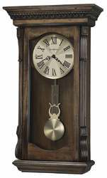 Wood And Brass Analog Antique Regulator Clock