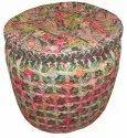 Handmade Cotton Poufs
