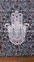 Twin Hamsa Hand Tapestry Wall Hanging