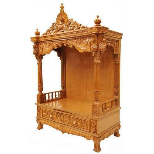 Wooden Temple Rs 10000 Piece Sagar Furniture Id 19625963988