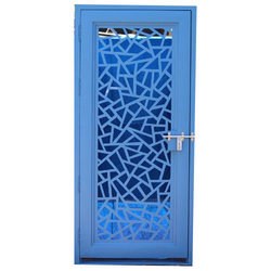 Galvanized Laser Cutting Designer Door