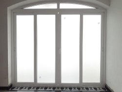 White PVC Casement Window, Glass Thickness: 5-10 Mm