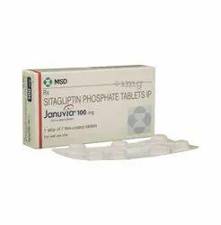 Sitagliptin 100 Mg Januvia Tablet