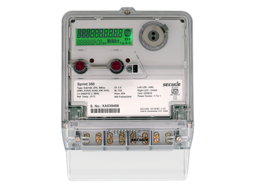 Secure Ht Tod Class 0 2s Dlms Energy Meter At Rs 26000   Piece