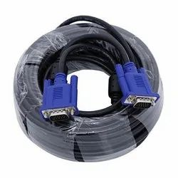 20 Meter Svga Vga Computer Monitor Cable Male To Male Supports 1080p High Resolution
