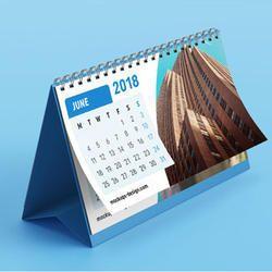 Spiral Table Calendar