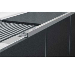 Aluminium Square Edge Tile Trim