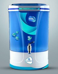 Plastic Blue Aquaboy Non Contact Hand Sanitizer Cabinet, For Office