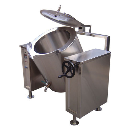 Industrial Canteen Tilting Type Rice Boiler Manufacturer