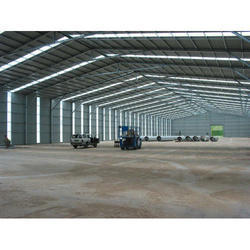 Steel Prefabricated Shed, for Kiosk