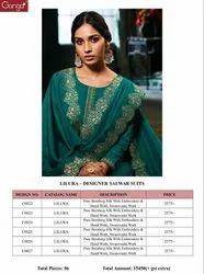 Ganga Lilura Bemberg Silk Suits