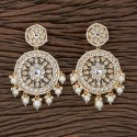 Danglar Indo Western Trendy Earring With Gold Plating 100749