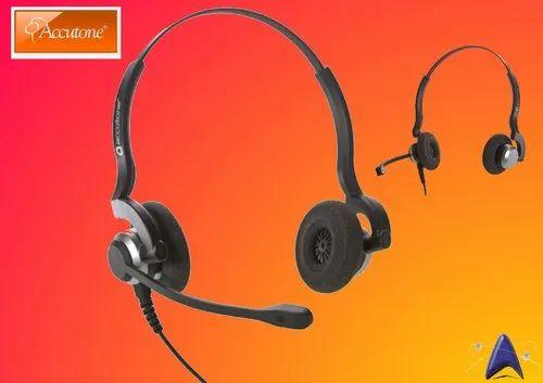 565de1fc001 Black Wired Accutone UC610 Headset, Rs 3900 /piece, Optima ...