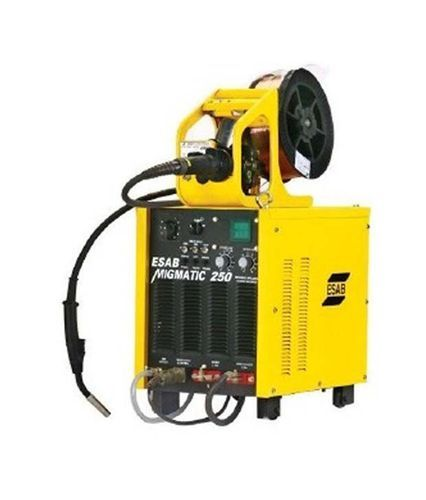 200-300 A Single Phase ESAB MIG Welding Machine, Model Number/name: Migmatic 250