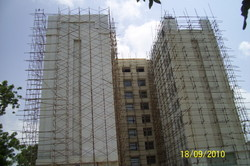 H Frame / Cuplock Scaffold Scaffolding Services, for Construction