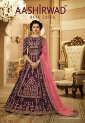 Aashirwad Anarkali Bridal Suits