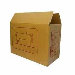 Brown Offset Printed Corrugated Box, Weight Holding Capacity (kg): 5 - 10 Kg
