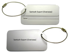 Aluminum Metal Luggage Tag