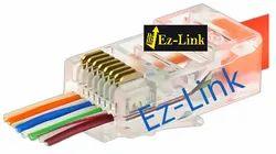 Ez-Link RJ45 CAT 6 Connector