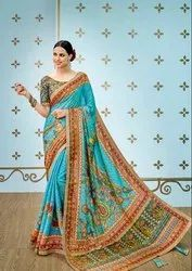 Pr Fashion Launched Beautiful Designer Saree With Pretty Digital Prints