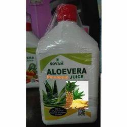 Organic Aloe Vera Pineapple Flavor Juice