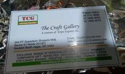 Paper Visiting Cards digital and screen printing, Size: Standard