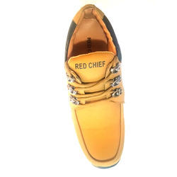 Red Chief Brown Leather Male Shoes, Size: 6 - 9 and 7 - 10