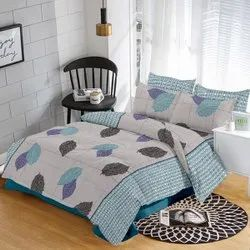 Embroidered Printed Bed Sheets