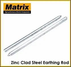 Zinc Clad Steel Earthing Rod
