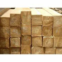 4-6 Feet Teakwood Rectangular Teak Square Block, Thickness: 1 To 4 Inch, Matte