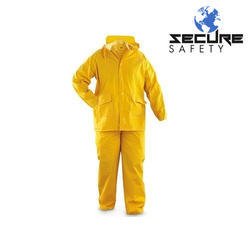 Yellow PVC Boiler Suit for Industrial Use