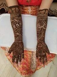 Bridal Designer Mehendi Service