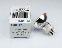 Tungsten Halogen 12V-75W Dental Curing 13865 Philips Reflector
