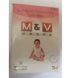 Multivitamin Multimineral Drops