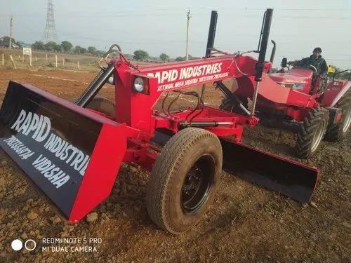 Tractor Grader Attachment